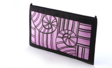 Violet Crossing Sling Clutch