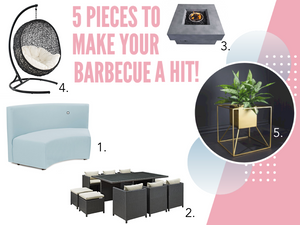 5 Pieces To Make Your Barbecue a Huge Hit