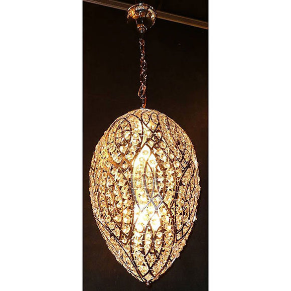 Modern Tear Drop Pendant Chandelier , contemporary light fixture,