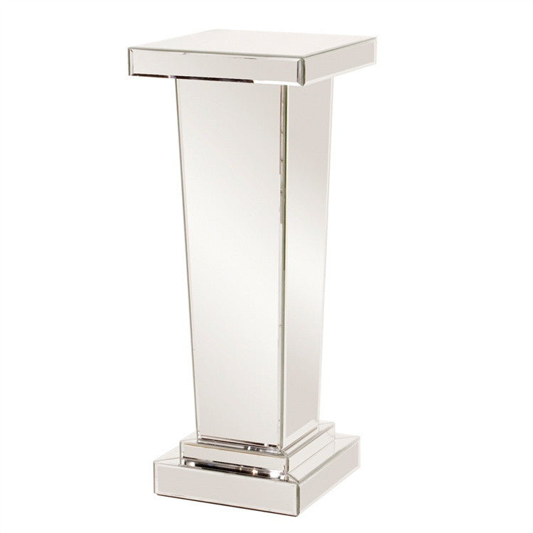 Tapered Mirrored Display Pedestal