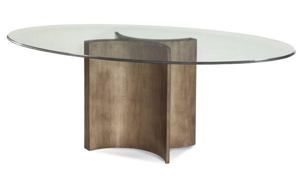 Swoosh Dining Table, oval dining table, modern dining table, contemporary dining table