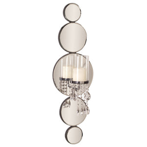 Mona Mirrored Wall Sconce, modern wall sconce, contemporary wall sconce