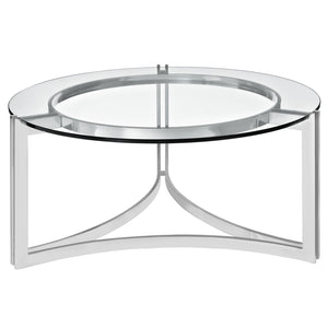 Concentric Cocktail Table, round coffee table, modern cocktail table