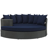 Navy Blue Outdoor Daybed