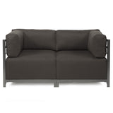 Block Outdoor Love seat, modern furniture, contemporary outdoor furniture
