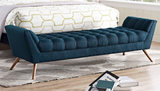 BEAKON MODERN FLAIR BENCH XL Teal