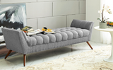 BEAKON MODERN FLAIR BENCH XL Light Grey