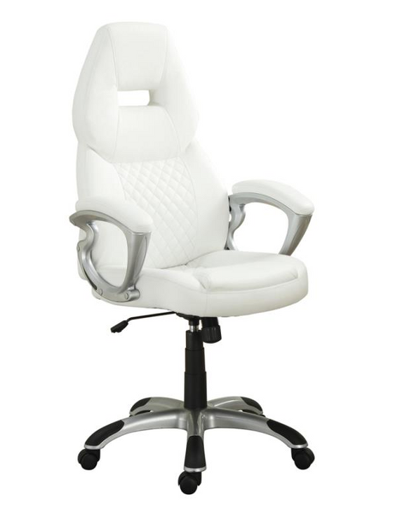 Focus Desk Chair White