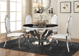 LaPearle Dining Chair Chrome S/2