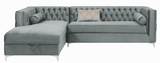Society Storage Sectional Grey