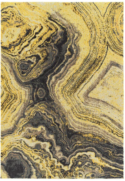 Agate Rug Gold
