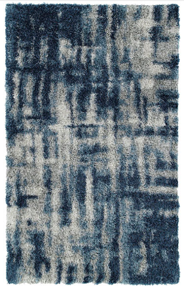 Denim Shag Rug