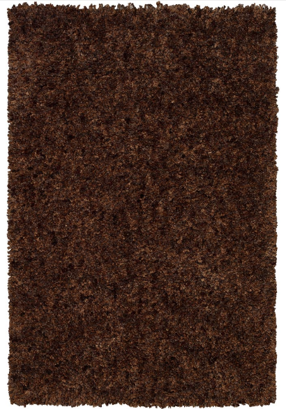 Cloud Modern Thick Pile Rug Brown