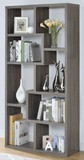 Random Acts Bookcase/Display Shelf Weathered Gray