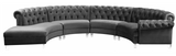 Centennial Modular Curved Sofa Grey