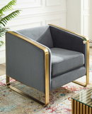 Brasso II Accent Chair Grey