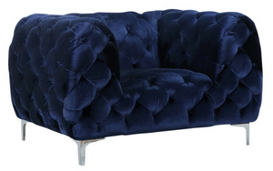 Pietro Chair Navy Blue