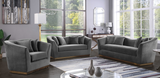Slope Modern Sofa Grey