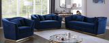 Slope Modern Loveseat Blue