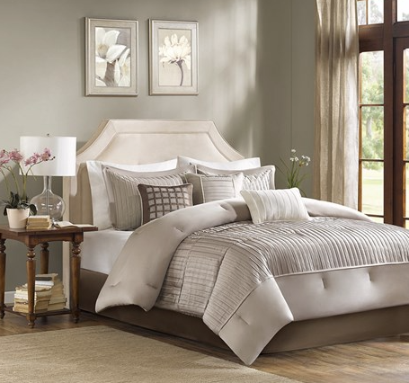 Luce 7 Piece Comforter Bedding Ensemble