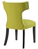 Wheatgrass Upholstered Dining Chair with nailhead trim