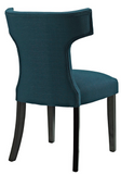 Azure Upholstered Dining Chair with nailhead trim