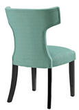 Laguna Upholstered Dining Chair with nailhead trim