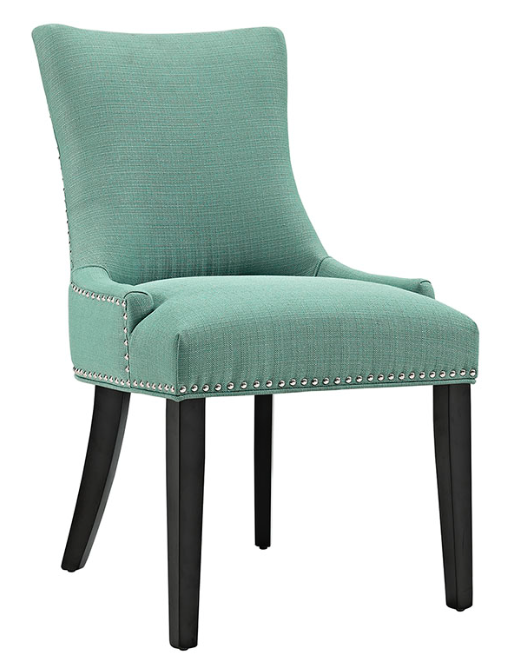 Laguna Dining Side Chair with nailhead trim