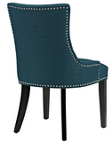 Azure Dining Side Chair with nailhead trim