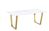 Carnival Dining Table Gold