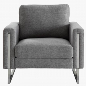 Modern grey, modern sofa, modern chair, modern loveseat, stainless steel furniture, metal