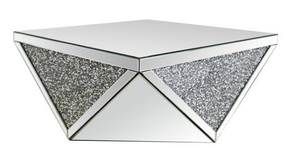 Mirrored Coffee table, mirrored cocktail table, end table, Console table