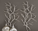 Branch Metal Wall Decor S/2