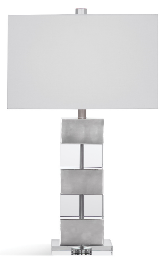 Greyson Crystal and Metal Table Lamp