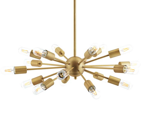Boast Brass Pendant Light