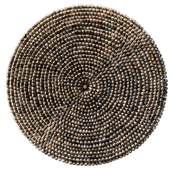 Oversized Round Twig Wall Art