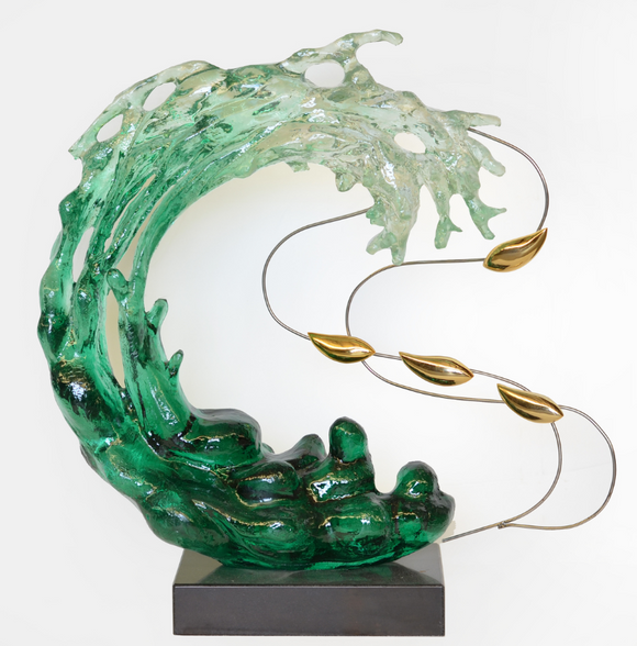 Acrylic Oceanic Sculpture