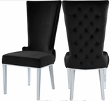 LaFlare Dining Chair S/2 Black