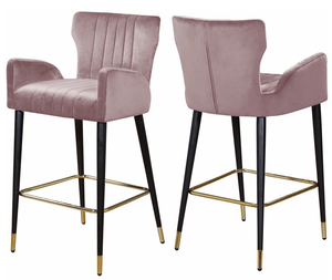 Cambridge Counter Gold Stool S/2 Blush
