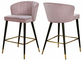 Shelly Modern Counter Stool S/2