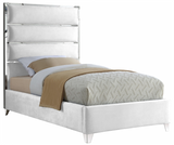Tier Upholstered Modern Bed