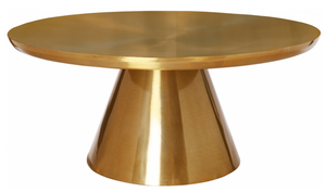 Osirus Modern Coffee Table Gold