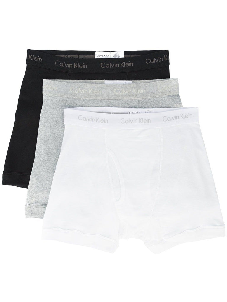 100% COTTON BOXER BRIEF 3 PACK-CALVIN KLEIN-American Rag Cie