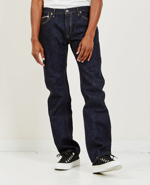 GRAPH ZERO 10oz Zip Slim Straight Indigo