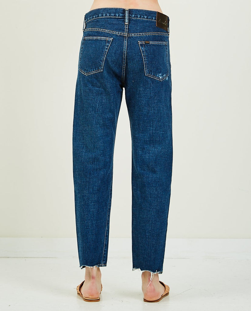 CHIMALA-13.5 OZ SELVEDGE NARROW TAPERED-Women Boyfriend-{option1]