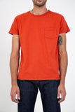 LEVI'S VINTAGE CLOTHING-1950'S SPORTSWEAR TEE ROOIBOS-Men Tees + Tanks-{option1]