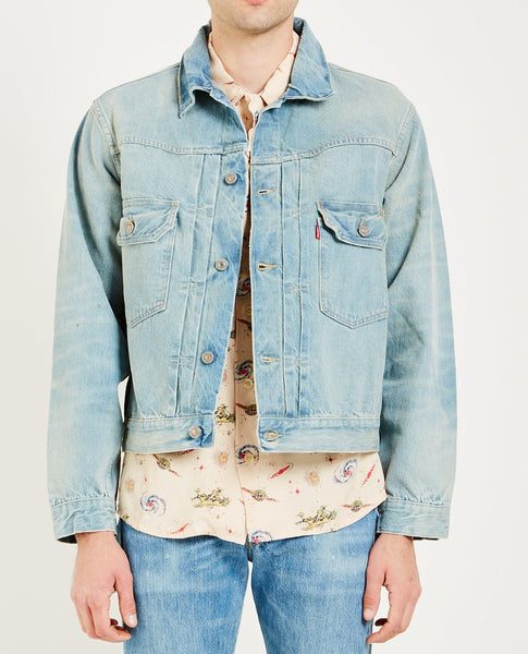 LEVI'S VINTAGE CLOTHING 1953 TYPE II JACKET BREAK WATER
