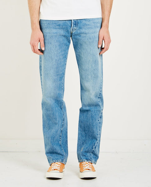 LEVI'S VINTAGE CLOTHING 1955 501 JEAN OLIV' YOU ROCK