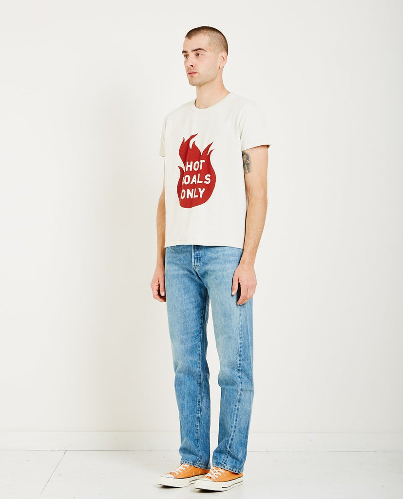 1960'S LOOSE TEE HOT COALS-LEVI'S VINTAGE CLOTHING-American Rag Cie