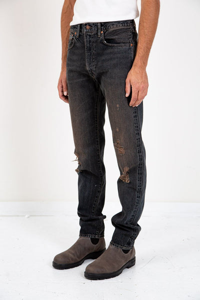 LEVI'S VINTAGE CLOTHING 1961 551 Z BLACK CROW